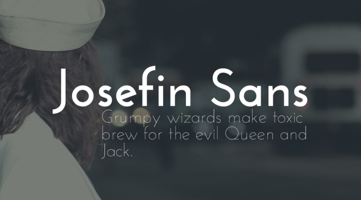Josefin Sans