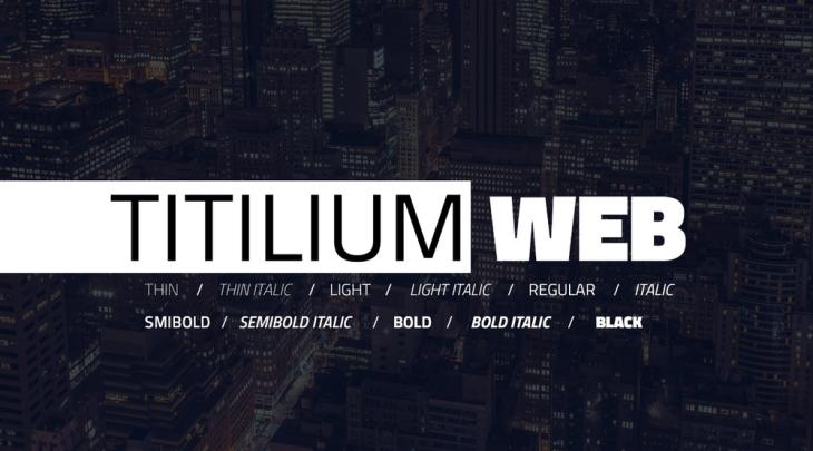 Titilium Web